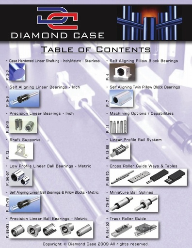 Diamond Case Catalog