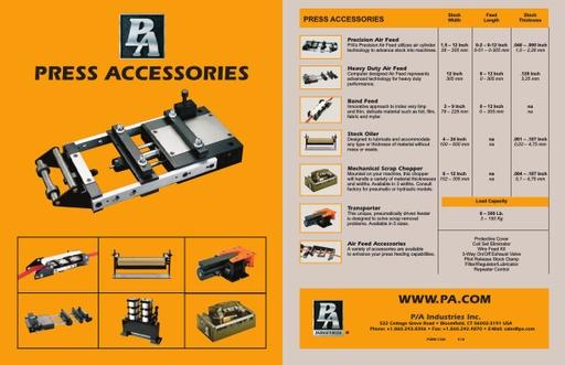 Press Accessories