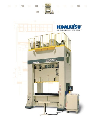 Mechanical Press - Straight Side - G Series