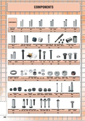 Misumi Catalog Pg 669-714 - Components