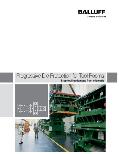 Progressive Die Protection for Tool Rooms