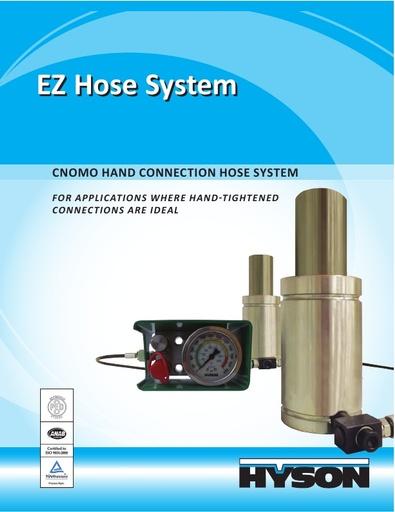 EZ – CNOMO – The Hand Connection Hose System