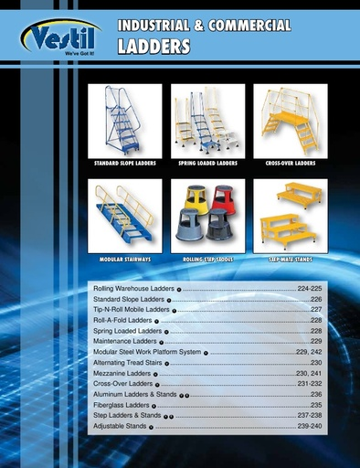 Industrial Ladders