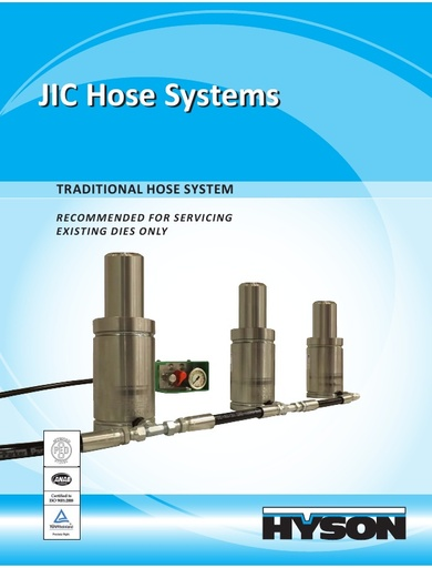 JIC – The Traditional Hose System