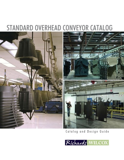Richards-Wilcox Standard Overhead Conveyor Catalog