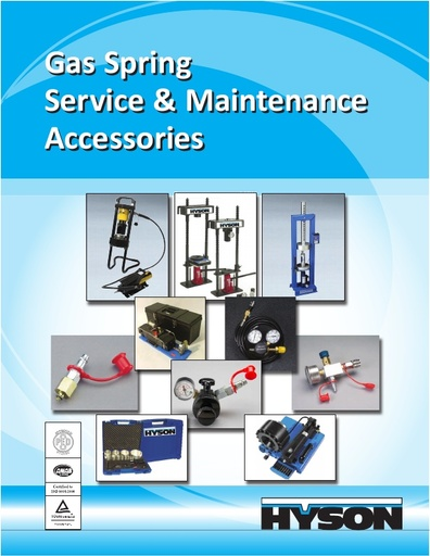 Gas Spring Service and Maintenance Accessories