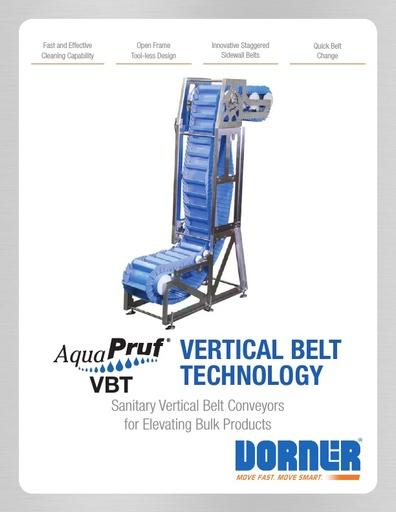 AquaPruf VBT (Vertical Belt Technology)