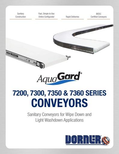 AquaGard 7200, 7300, 7350 & 7360 Conveyors