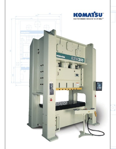 Mechanical Press - Straight Side - E2W Series