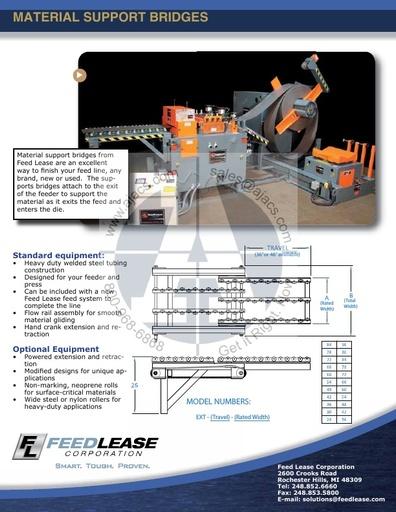 Material Support Bridges