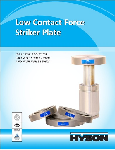 Low Contact Force Striker Plate