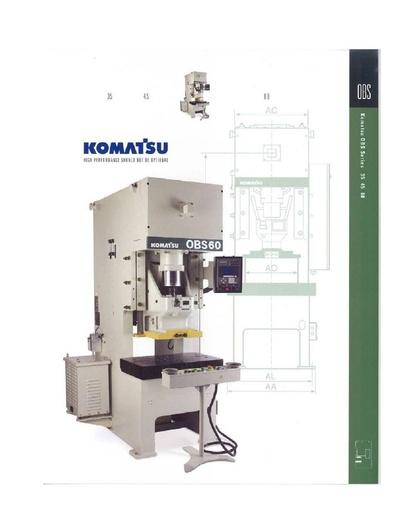 Mechanical Press - Gap Frame - OBS 25-60 Ton Type 33