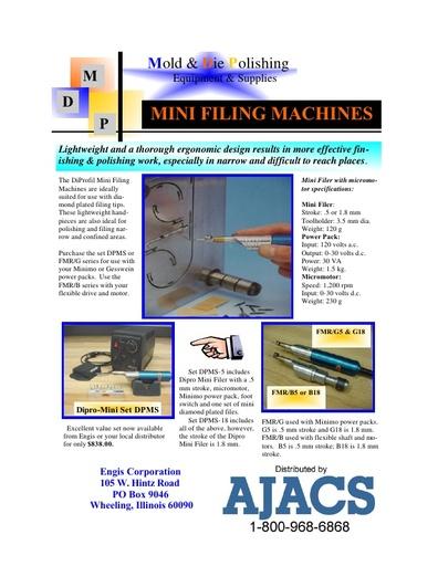 Diprofil Mini-Filing Machines