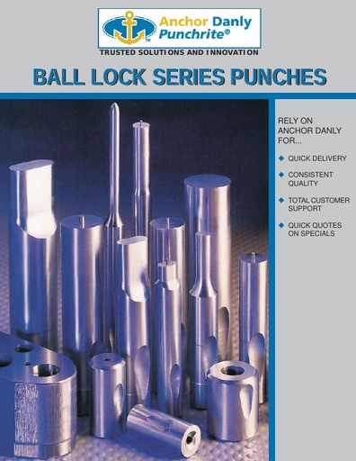 Punchrite Ball Lock Series Punches