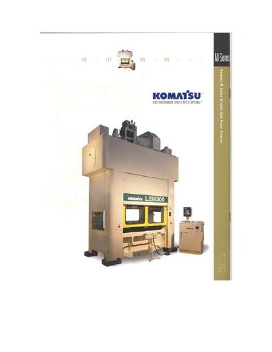 Mechanical Presses for Progressive Stamping - M Series
