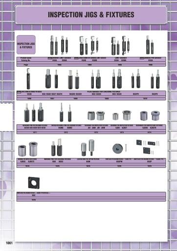 Misumi Catalog Pg1061-1077 - Inspection Jig & Fixture