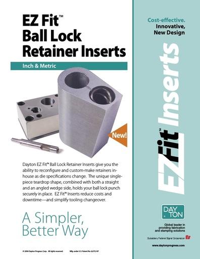 EZ Fit Ball Lock Retainer Inserts