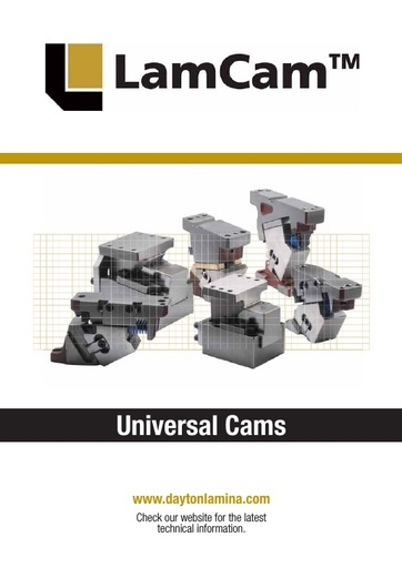 Universal Cams