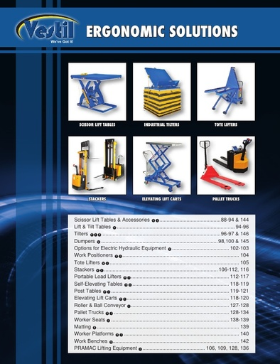 Ergonomic Equipment